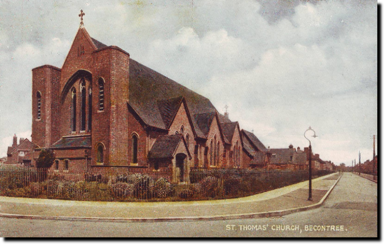 St. Thomas Church, Becontree